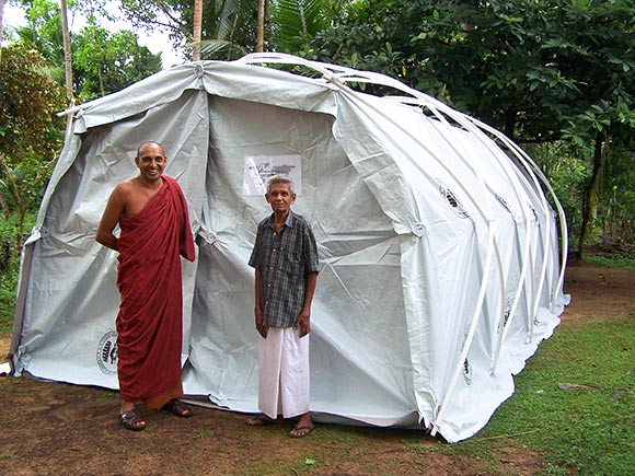 Q-Shelter in Sri Lanka
