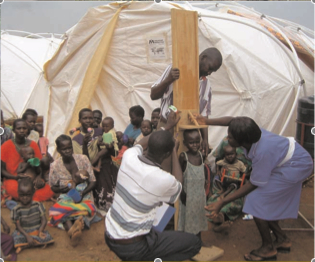 Shelter Clinic in Uganda